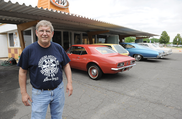 Gregg Johnson will give those interested in cars a chance at car history when the family auctions off more than 50 collectibles.