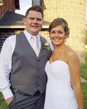 Emily Hardy and Randall Enright