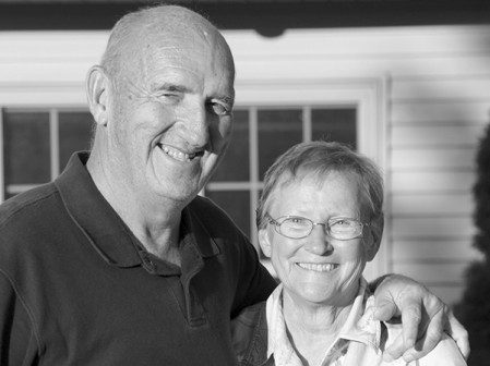 Jim and Mary Hokanson at their 50th anniversary in 2012. Mary is advocating the benefits of hospice care after Jim died of cancer earlier this year. -- Photo provided.