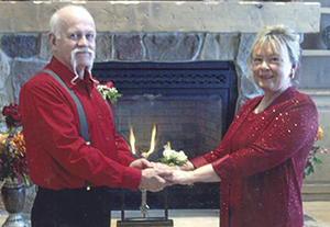 Patricia Wright and Robert Coleman
