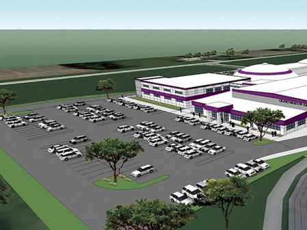 This artist's rendering shows what the Grand Meadow school's addition could look like.