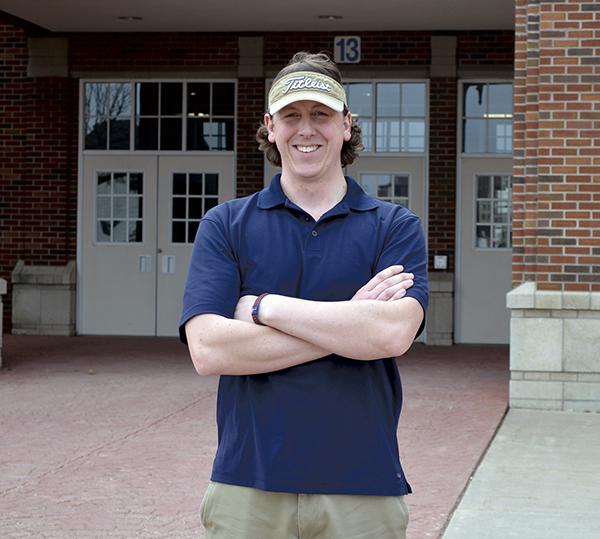 Ryan Weichmann is the new Austin girls head golf coach. -- Rocky Hulne/sports@austindailyherald.com