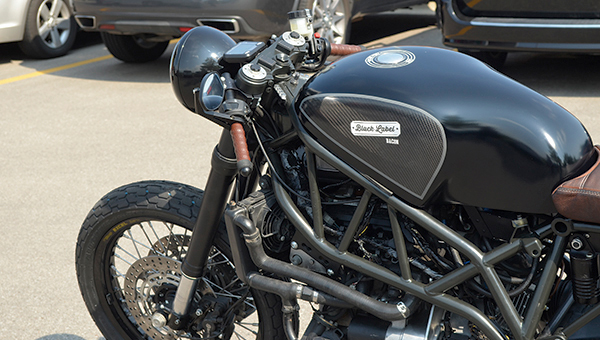 A crew of 12 people will follow and film a Hormel Black Label Bacon-sponsored motorcycle ride across the country this month.
