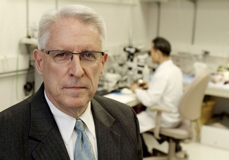 Mayo Clinic's Dr. Gary Sieck, and his colleagues are researching the effects of hypothermia on heart tissue at the mitochondrial level when it is rewarmed. The research may lead to better treatments for people exposed to extreme cold who may not otherwise survive hypothermia. Alex Kolyer/MPR News