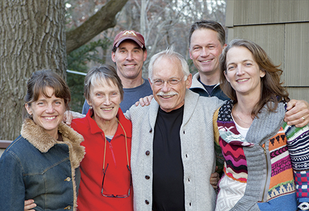 Dr. Dick Schindler, with his wife Belita, and, four children, was a devoted family man and pillar of the community. -- Photo submitted