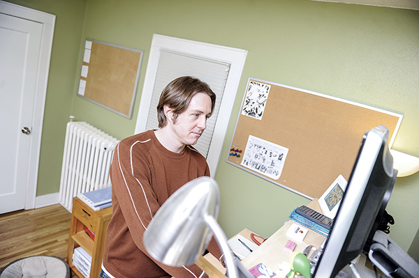 Sean E. Williams spends his time working from home in an upstairs office. Williams, along with Saori Adams have kicked off Comicker Digital, an online distribution platform for webcomics. Herald file photo