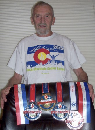 Austin grad Dr. LaRue Johnson recently competed in the National Senior games in Minneapolis. Photo Provided