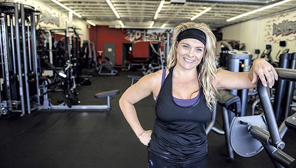 Jennifer Jenkins, owner of Total Fitness. Photos by Eric Johnson/photodesk@austindailyherald.com
