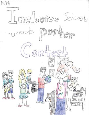 The fourth-grade winner was Faith Holmen, Banfield Elementary. --  Photos provided