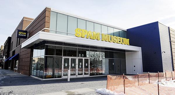 The new Spam Museum, located on Main Street. Eric Johnson/photodesk@austindailyherald.com