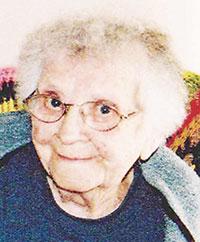 Agnes Zahradnik, 102