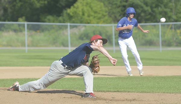 Jake Lunt pitches against Rochester Century in Marcusen Park Tuesday. Rocky Hulne/sports@austindailyherald.com