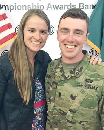 Stacy Bjorlie and Lt. James Fisher