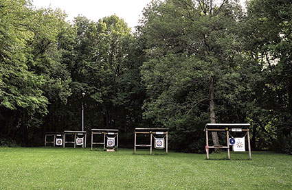 The Cedar River Archery Club will host a youth shoot Saturday at its scenic location east of Lansing. Eric Johnson/photodesk@austindailyherald.com