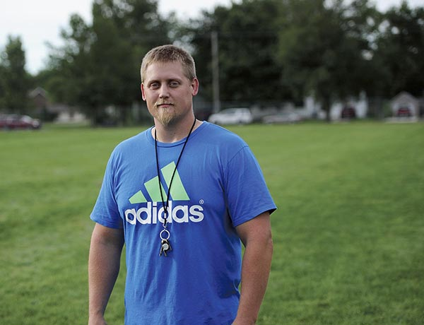 Jake Levisen has taken over as the head coach for the Austin girls soccer team. Rocky Hulne/sports@austindailyherald.com