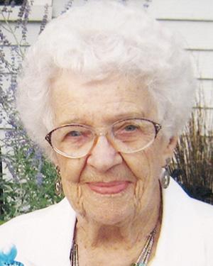 Florence Wendorf, 100