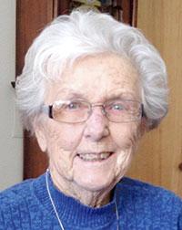 Marge Blaser, 95